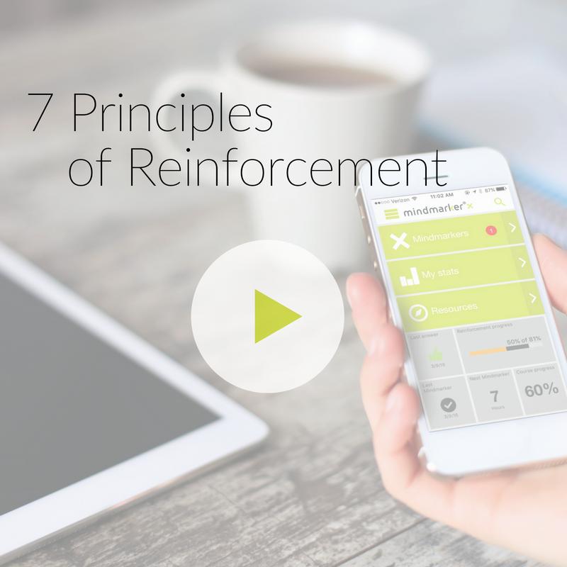 7 Principles of Reinforcement